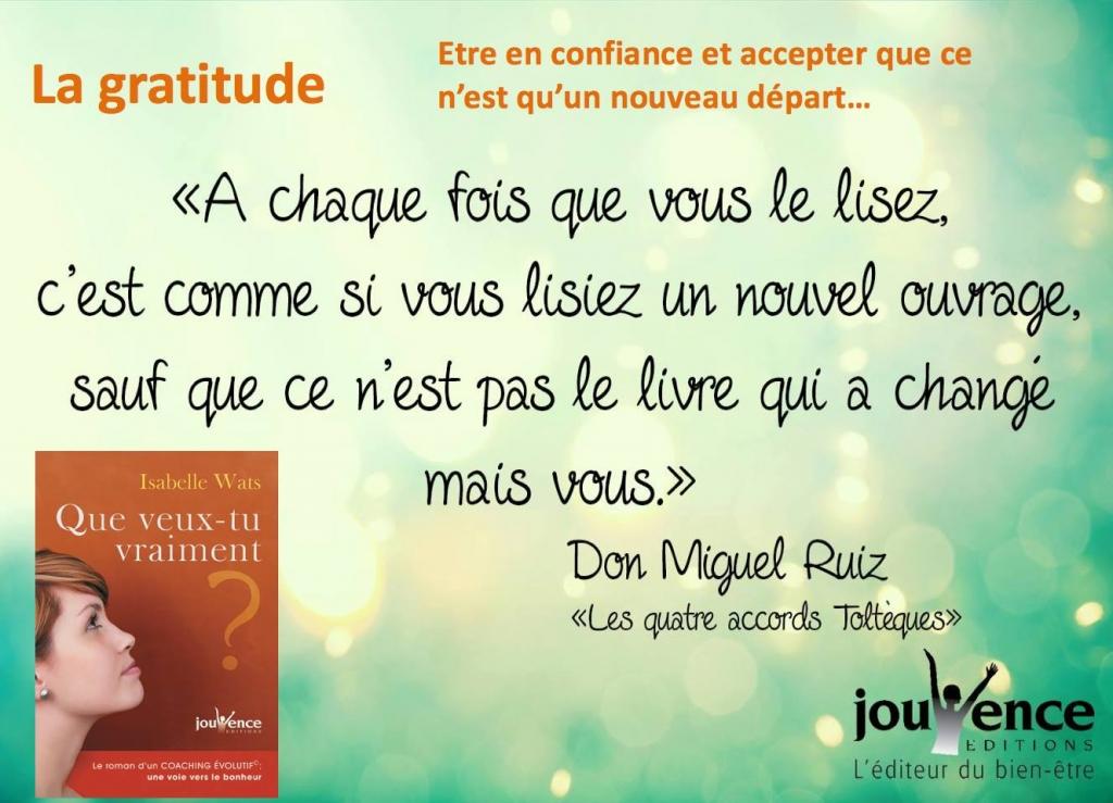 Isabelle Wats La Gratitude