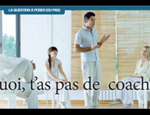 Article dans La Libre sur le coaching
