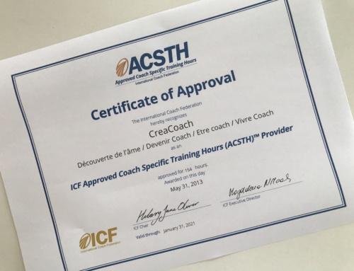 Formation de Coaching reconnue par ICF
